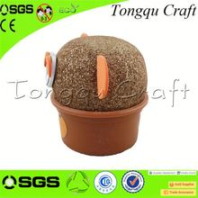 Creative wholesale promo items growing grass head toys wholesale promotional product , high quality promotional items