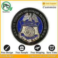 American territory designed keyring coin hot on sale