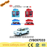 licensed 1:41 scale alloy rc model car with opening door compatible with sound and light