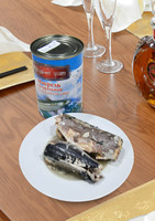 425g High Quality Canned Food Mackerel in Brine