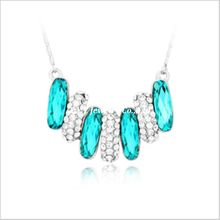 F.Y.L jewelry fashion jewelry crystal necklace Korean female gift Crystal Love