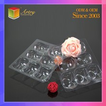 Custom Eco-Friendly New Modern Chocolate Transparent Blister Tray