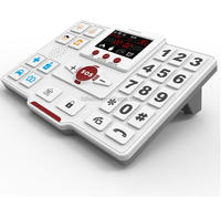 senior phone emergency call device with large dial keyboards/senior phone for elderly daily life Activity monitoring