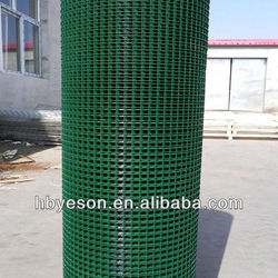 "22gauge 1/4""PVC Coating Welded mesh wire netting animal cage"