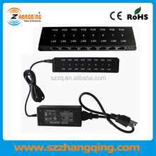 Factory Serving 8 Port POE Injector For IP Phone, IP Camera