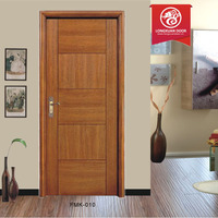 2014 New Design Finished Plywood Big Apartment door Lobby Entrance Door