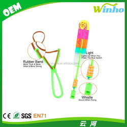 Winho whistle flare copters amazing arrow flying helicopter with whistler