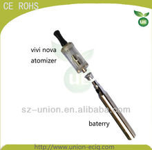 2013 newest e cigarette vivi nova rotatable with changeable atomzier on sell