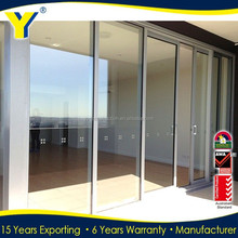 Australian Standards AS2047 AS/NZS2208 AS1288 office glass sliding door/aluminium doors for container homes/aluminum grill glass