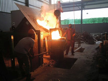5tons advanced brass furnace for melting