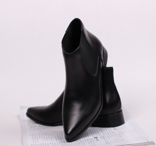 2014 Women Original Famous Brand Genuine Leather Winter Ankle Boots