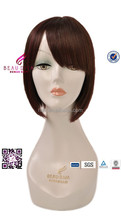 integration wigs with 100% remy short human hair ladies wigs mumbai