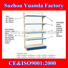 Single Side Wall Wire Back Shelf/Wall Mounted Wire Shelf