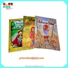 customized hardcover children school books printing in english