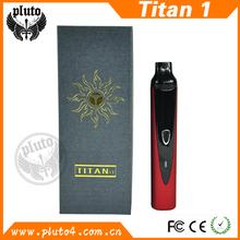 Hot selling dry herb vaporizer pen, 100% original Titan/Hebe vaporizer