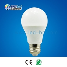 High lumen AC100-240V A60 led bulb light Aluminum +Plactic 9W led lamp