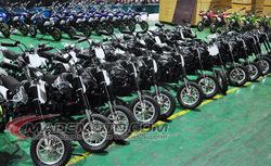 TOP E-BIKE popular mini folding electric dirt bike China