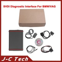 2015 SVDI Diagnostic Interface For VW For BMW With VAG Command V18+ For BMW Commander+Immoplus+Tag Key Tool Multi Languages