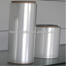 Double side silver Metalized PET film,12 mic