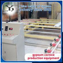 easy operation of gypsum cornice production line