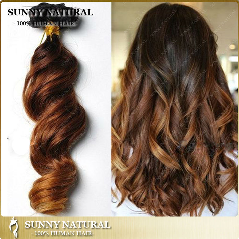 3 Tone Ombre Clip In Hair Extension For Black Women 3 Tone 1b427