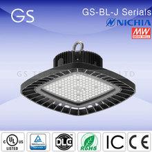 china golden supplier ip65 retrofot led 100w high bay & low bay warehouse light fixtures
