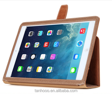 360 Degree Rotating Stand Case With pen holder Leather Case For IPad Case