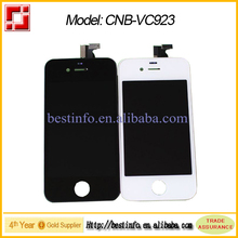 whole price for iphone 4s lcd screen and digitizer assembly