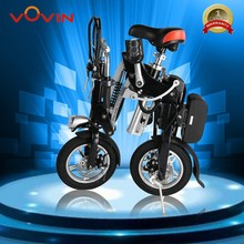 New design 35-45km range per charge 350W motor power foldable electric bike