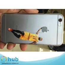 New Pattern Jordan Kobe Lakers NBA basketball stars Transparent PC Back Case Cover For iPhone 5/5s/6/6 Plus