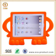 Angry Guy Stand Kids Drop Proof Plastic Laptop Case for iPad 2 3 4