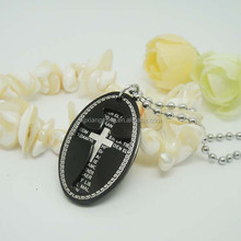 Christian Products Wholesale Christian Gifts Two Plates Cross Pendant