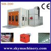 Car dry paint cabin/ spray paint booth for sale/ car care equipment
