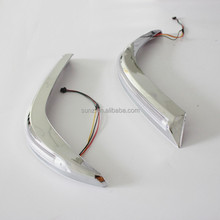 Top selling Toyota Hilux vigo 2012 ABS plastic head light brow with led light accessories