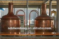 Specializing in the production of large beer equipment15bbl/2000l , Gold Supplier Beer Brewery Equipment
