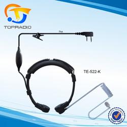 Topradio Two Way Radio Throat Control Earphone For KYD/Kydera NC-888 NC-877 NC-866 NC-855 NC-530 NC-6R Q5 Throat Control kits