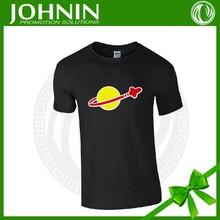 Fashion 100% Cotton Cheap Men's Custom DIY printing T-shirt