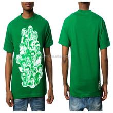 custom print t-shirt & the Boston Legends in green
