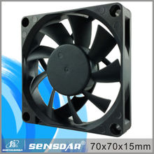 Hot 70*70*15mm dc brushless cpu fan motor 12V 24V