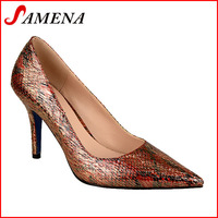 Women closed toe pumps ladies pointed dinner shoes