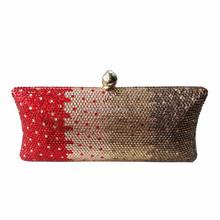 Alibaba China Factory New Women Ladies Crystal Clutch Handbag Purse Evening Bag