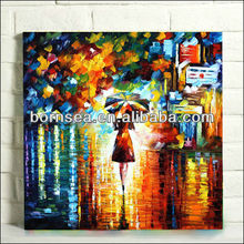 colorful oil painting reproduction