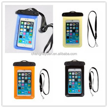 Cheap PVC Mobile Phone /Cell Phone Waterproof Bag For iphone 5/5S 5.0 Inch