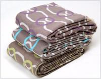 2015 best selling woven jacquard acrylic blanket