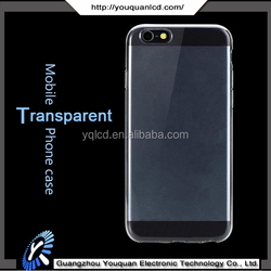 High quality Hot Sales Products Ultra thin 0.3mm Clear Transparent Mobile Phone TPU Case for iphone 6s