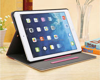 PU Leather Magnetic Front Smart Cover Crystal Hard Back Case for Apple iPad air Ipad5 Multi-Color