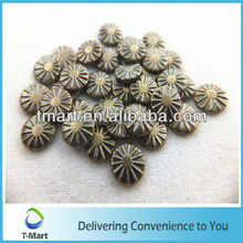Wholesale copper studs iron on for garment