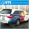 Advertising Usage decal and Printed sticker promotion Removable Durable vehicle sticker