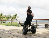 Outdoor Personal Vehicle Off Road 1000W electric motorcycle two wheels self balancing scooter