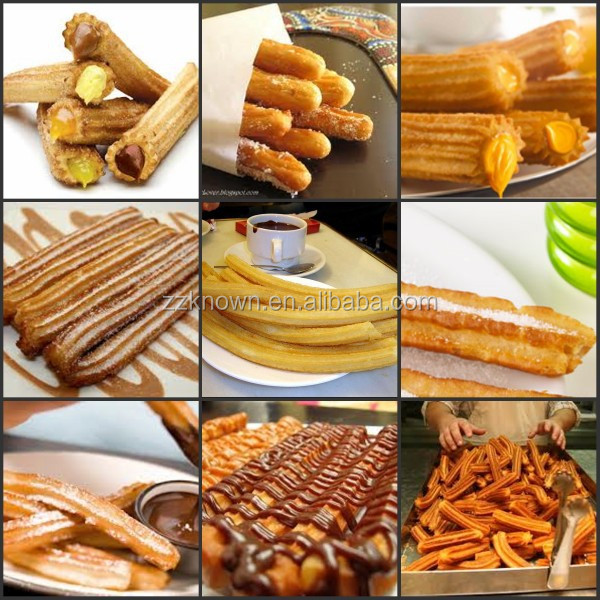 how to make churros with a churro maker